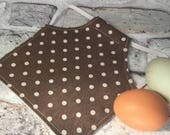 Small Chicken Saddle Hen Apron Reversible Feather Protection Bantam