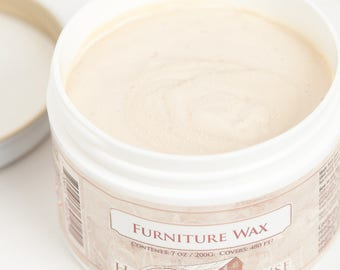 Homestead House Furniture Wax - Made in Canada - 3 colours