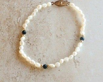 Delicate Fresh Water Pearl Bracelet