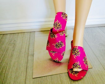 Ankara House Slippers