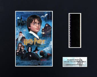 Harry Potter Philosophers Stone 8 x 10 Film Cell