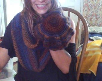 Hat&Infinity Scarf **matching set**