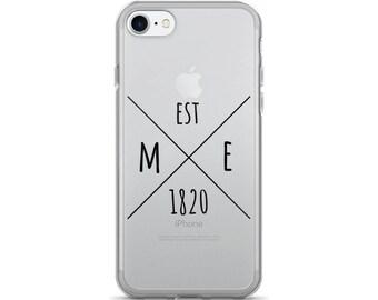 Maine Statehood - iPhone Case (iPhone 7/7 Plus, iPhone 8/8 Plus, iPhone X)