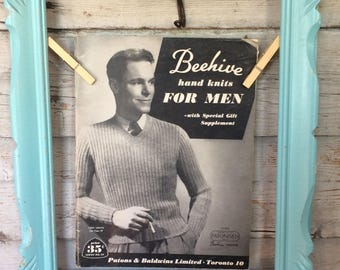 Vintage Hand Knits for Men by Beehive