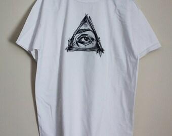 White Eye Shirt