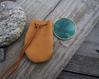 Custom Handmade Small Leather Pouch