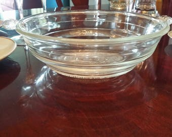 Glasbake 55 patented 1927 casserole dish bowl.