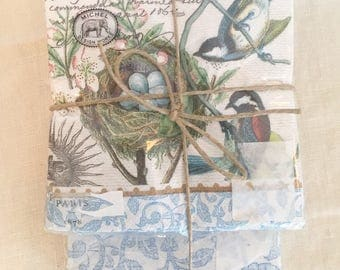 Bird Nest Hostess Napkin Set