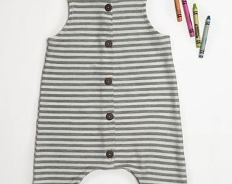 Striped Baby Outfit | Size 9-12 m