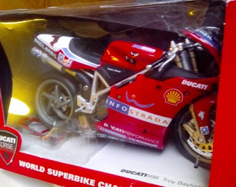 Ducati 998 diecast collectable.