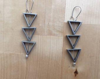 3 Triangles Earrings