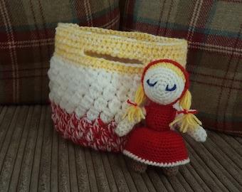 Little red riding hood bag