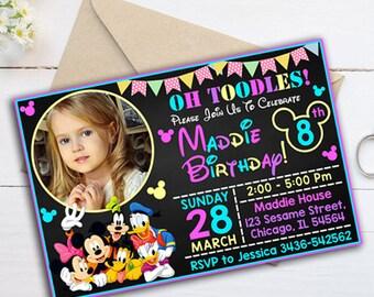 Construction Birthday Invitation Construction Party