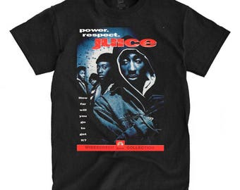 Juice Movie - Tupac - Black Shirt - Ships Fast! High Quality!