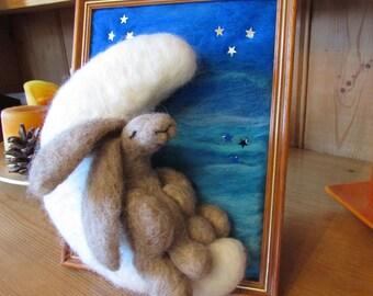 "OOAK ""Sweet dreams bunny"""