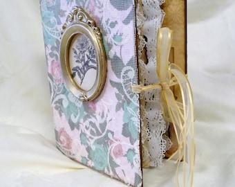 Junk Journal, Writing Journal, Diary, Keepsake Journal, Handmade Journal