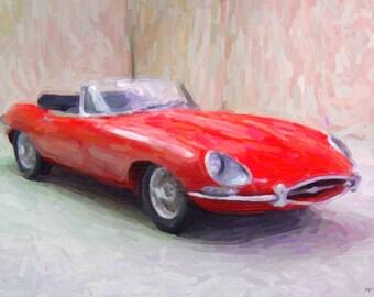 E Type Jaguar 1962