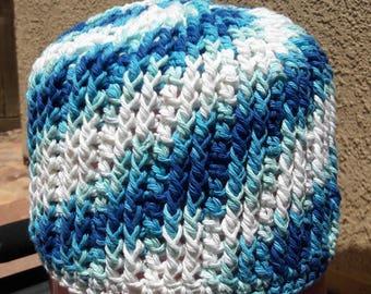 Crochet Ribbed Beanie- Adult/ Teen size