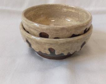 Ceramic Dessert Bowls - Set of 2