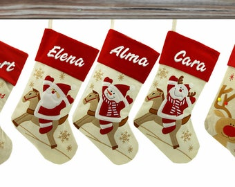 Personalized Christmas Stockings Personalized Stockings Custom Christmas Stocking Embroidered Christmas Stocking Monogram Christmas Stocking