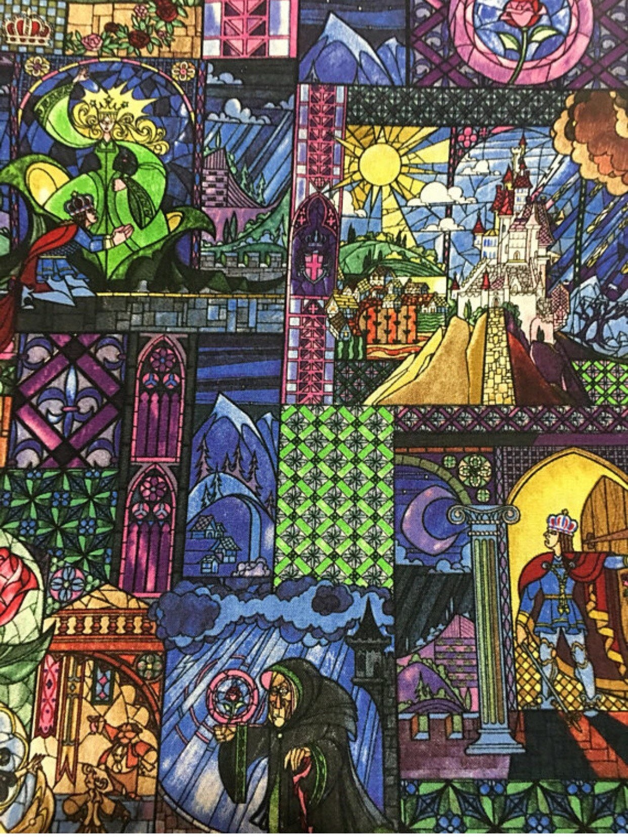 Disney Beauty And The Beast Fabric Disney Fabric Belle