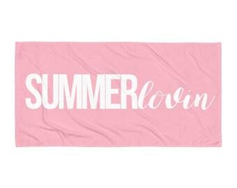Summer lovin - Beach towel