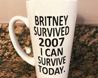 Britney Survived 2007 Mug