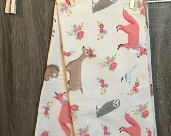 Receiving Blanket, Flannel Blanket, Nursery Blanket, Nursery Flannel