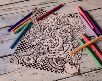 Printable Coloring Page 4