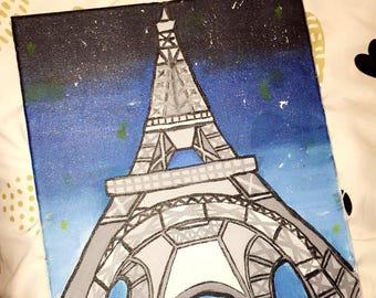 A Night in Paris (11 in x 14 in)