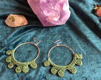 Pre-Columbian earrings