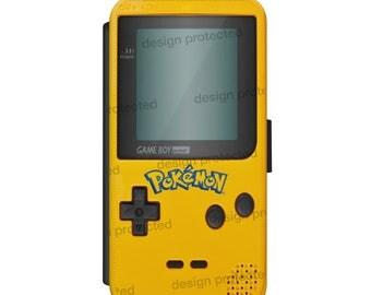Pokemon Game Boy Color Atari 80 Retro Mario Wallet Flip phone Case Cover For All iPhone & Samsung models