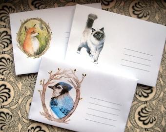 Paper envelopes, handmade envelopes