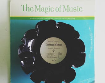 1957 The Magic of Music Record Bowl
