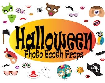Fun Halloween Photo Booth Props
