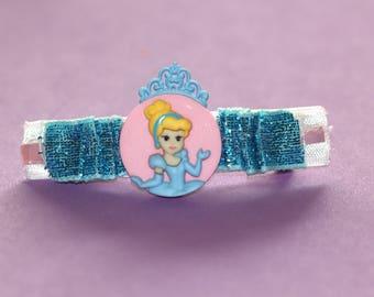 Gorgeous Handmade Cinderella Princess Barrettes!