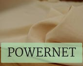 POWERNET! In Latte, Perfect for Bra-making! Sold by the 1/2 Meter!