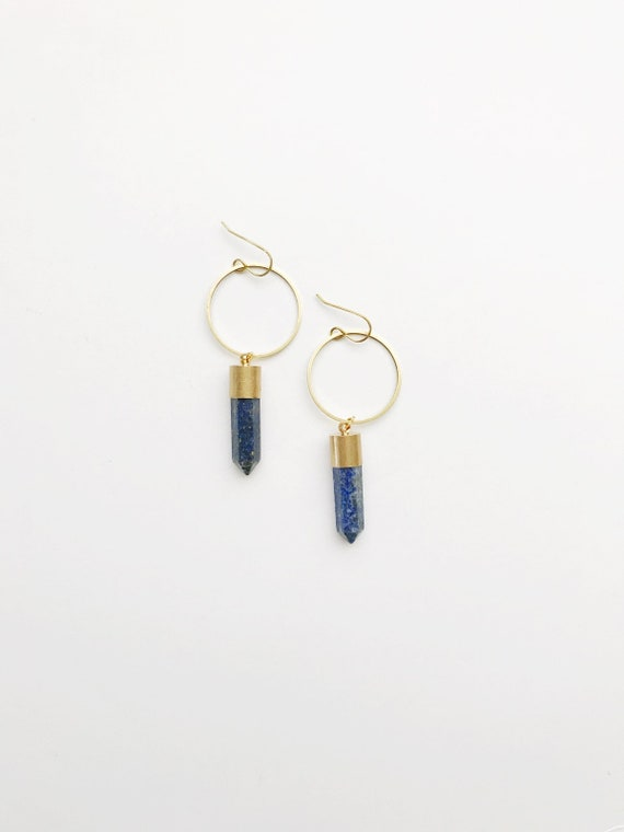 Blue Lapis Sisterhood Earrings