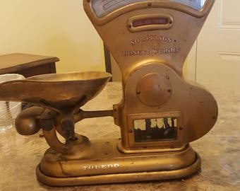 Vintage scale 1917