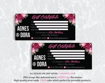 Gift Certificate Agnes and Dora, Agnes and Dora Gift Certificate, Custom Agnes And Dora, Digital Agnes and Dora, Printable File AG16