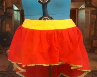 Red Costume Skirt