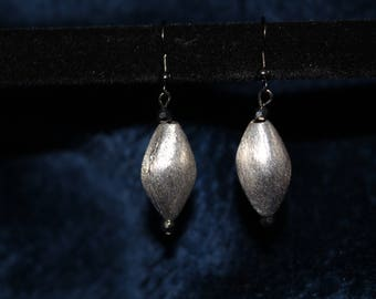Funky Silver Earrings