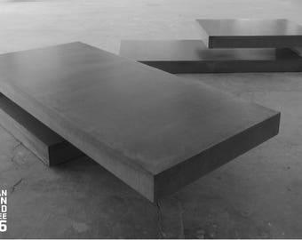 T6 + T9 concrete concretables / coffee tables