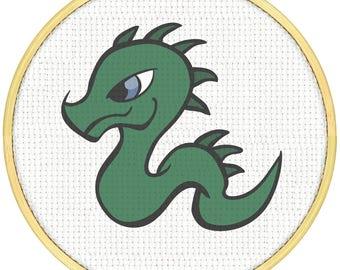 Dragon Cross Stitch Pattern, Cross Stitch PDF, Cross Stitch pattern, Dragon Green Cross Stitch Cross Stitch Super Dragon Dragon Dragon