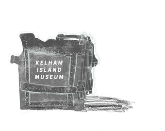 Limited edition A4 Kelham Island, Sheffield print
