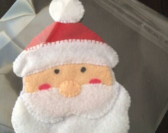 Christmas Santa Claus hand stitched ball