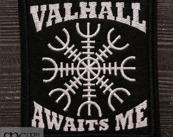 Patch  Valhall Awaits Me