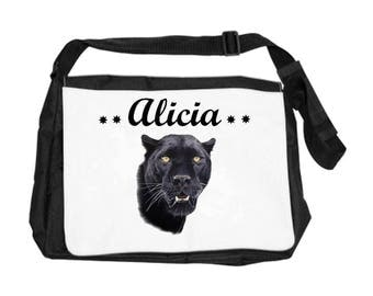 Black Panther bag personalized with name