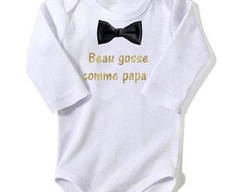 Handsome like Daddy baby Bodysuit