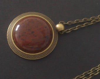 Aventurine gemstone pendant